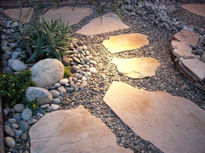 Xeriscape Backyard Ideas : Garden Design Xeriscaping  Small Backyard Landscaping Ideas